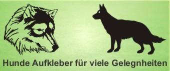 Autoaufkleber Hunde